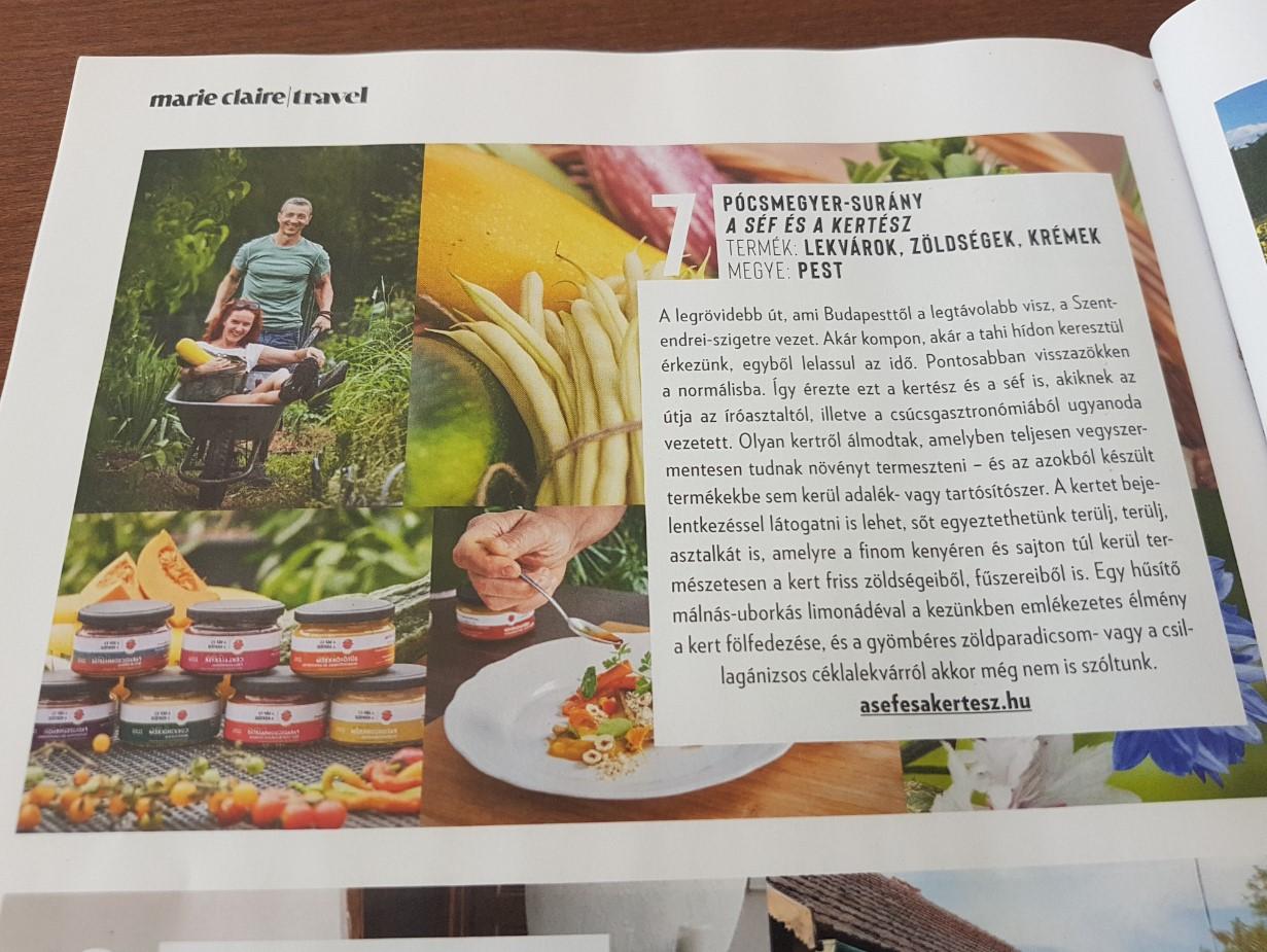 Marie Claire Travel különszám, 2020. szeptember