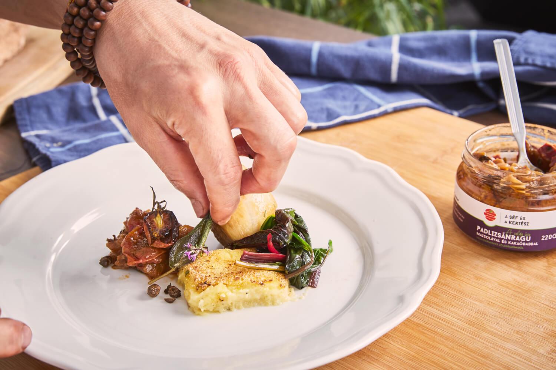 ételfotó 3 – kézműves termék – a séf és a kertész