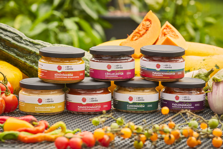 termék csoportkép 2 – kézműves termék – a séf és a kertész